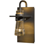 Erlenmeyer Wall Light - Dark Smoke / Clear