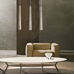 Tress Stilo Pendant by Foscarini