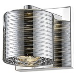 Sempter Wall Light - Chrome