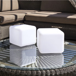Dice Bluetooth Indoor/Outdoor Lamp -  / White