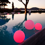 Ball LED Outdoor/Indoor Lamp -  / White