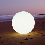 Globe Outdoor Indoor LED Lamp -  / White