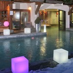 Cube Bluetooth LED Outdoor/Indoor Lamp -  /