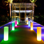 Tower Bluetooth Indoor / Outdoor LED Lamp - White