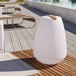 Vessel LED Outdoor/Indoor Lamp - White /