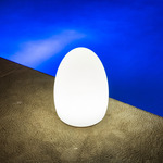 Egg Bluetooth Indoor / Outdoor LED Lamp - White