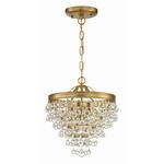 Calypso Pendant - Vibrant Gold / Clear