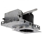 LEDme 4IN Square Invisible New Construction NIC Housing - Steel