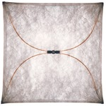Ariette Wall / Ceiling Light - Off White / Red