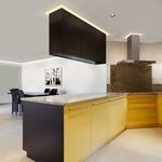 Verge Ceiling 5W Plaster-In System - Aluminum