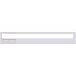 Verge Corner 5W Plaster-In System - Aluminum