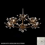 Estella 5 Light Chandelier - Porcelain / Crystal