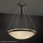 Veneto Luce Suspension - Brushed Nickel / Lace