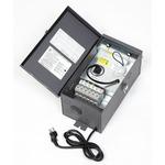 600 Watt 12-15 Volt Multitap Outdoor Transformer - Dark Grey /