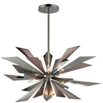 Galaxy Chandelier - Midnight Chrome /