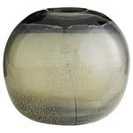 Marek Round Vase - Silveria Smoke Glass