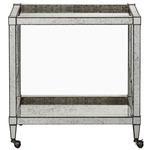 Monarch Bar Cart - Viejo Silver