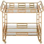 Odeon Bar Cart - Gold Leaf