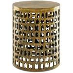 Alvar Accent Table - Antique Gold