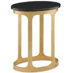 Inola Side Table - Antique Gold Leaf