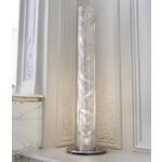 Spiral Floor Lamp - Stainless Steel