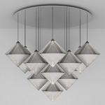 Top Mega Multi Light Pendant - Silver