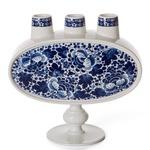 Delft Blue No 3 Vase - Blue/ White