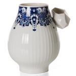 Delft Blue No 8 Vase - Blue/ White