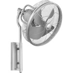Veranda Wall Fan - Satin Nickel