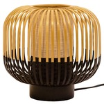 Bamboo Table Lamp - Black Bamboo