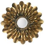 Bouquet Mirror - Antique Brass