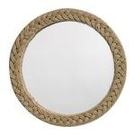 Braided Mirror - Jute Rope / Mirror