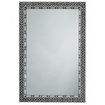 Evelyn Rectangle Mirror - Mother of Pearl