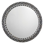 Evelyn Round Mirror - Mother of Pearl