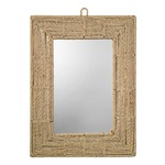 Jute Rectangle Mirror - Jute Rope / Mirror