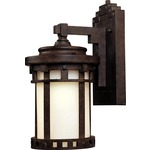 Santa Barbara LED E26 Outdoor Wall Light - Sienna / Mocha