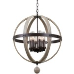 Harper Indoor / Outdoor Pendant - Florence Gold / Clear