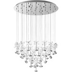Pianopoli Multi Light Pendant - Chrome