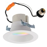 Prism 5/6IN Retrofit RGBW Reflector Downlight - White