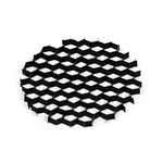 Iolite 2 Inch Hex Cell Louver - Black