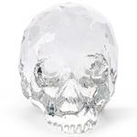 The Hamlet Dilemma Skull Figurine - Crystal