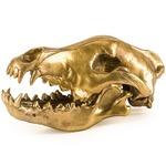 Diesel Wunderkammer Wolf Skull - Gold
