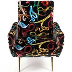 Snakes Armchair - Polished Brass