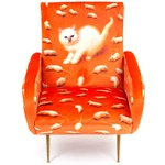Kitten Armchair - Polished Brass