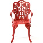 Industry Arm Chair - Red