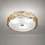 Glamour Ceiling Flush -  / Gold