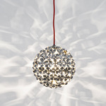 Ortenzia 8 inch Pendant - Nickel /