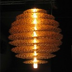 Tresor Pendant - Gold Leaf /