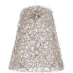 Crystal Waters Hanging Lamp Shade - Nickel /