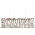 Hollywood Long Hanging Lamp - Nickel /